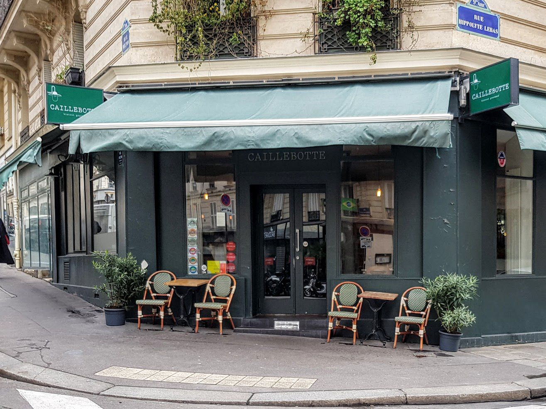 Caillebotte restaurant Paris 9 rue Hippolyte Lebas