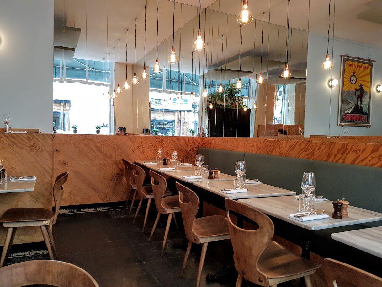 La salle de Caillebotte restaurant Paris 9