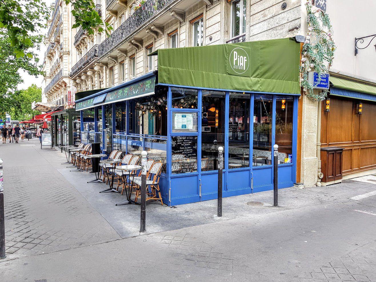 Piaf Bistrot restaurant Paris 6 Boulevard du Montparnasse