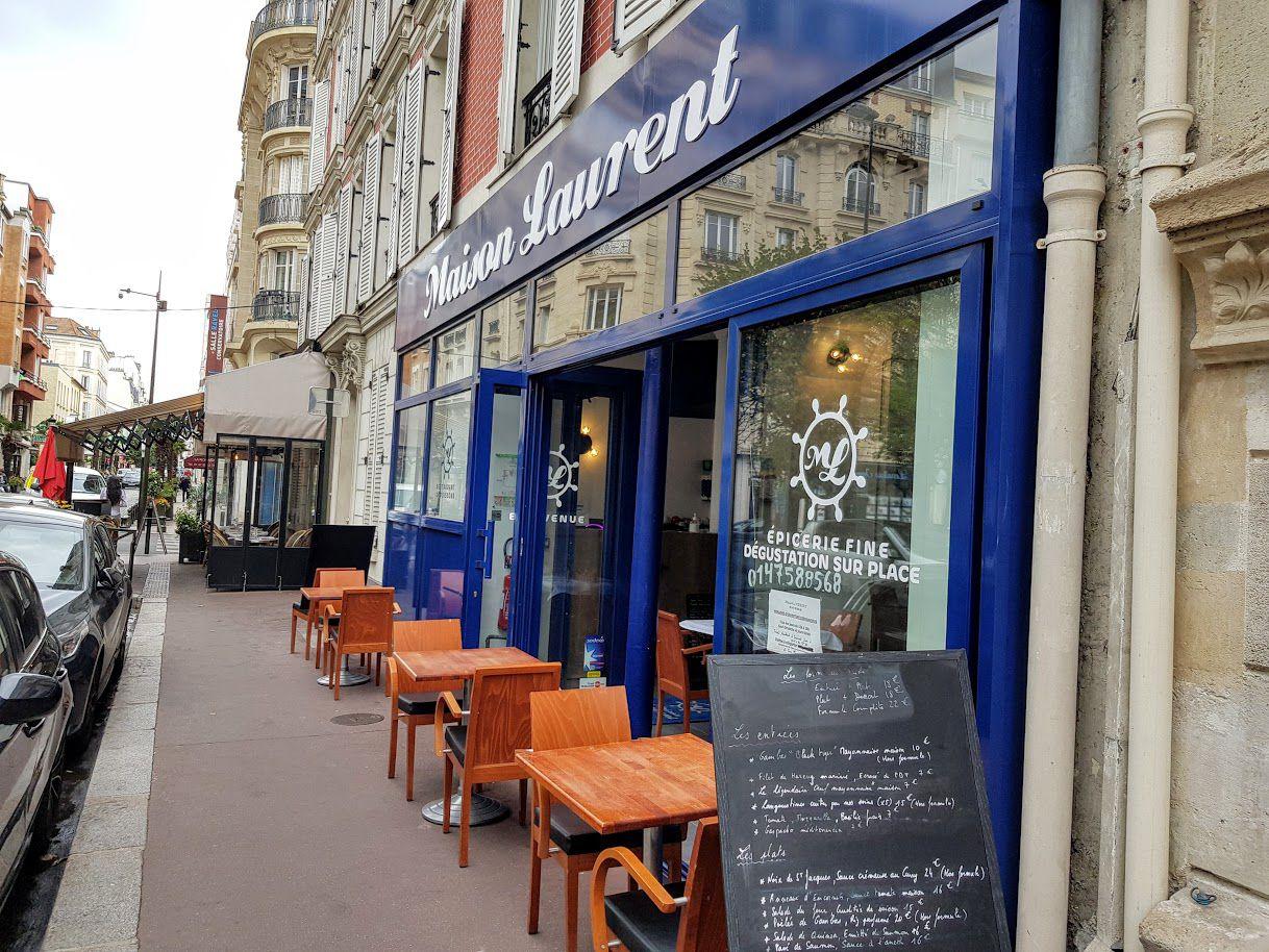 Maison Laurent restaurant Levallois Perret rue Gabriel Péri