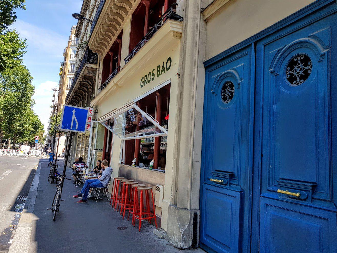 Gros Bao restaurant Paris 10 quai de Jemmapes