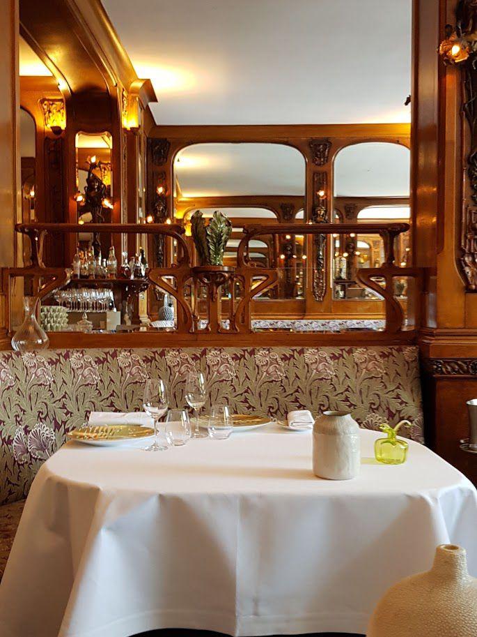 La salle de Lucas Carton restaurant Paris 8