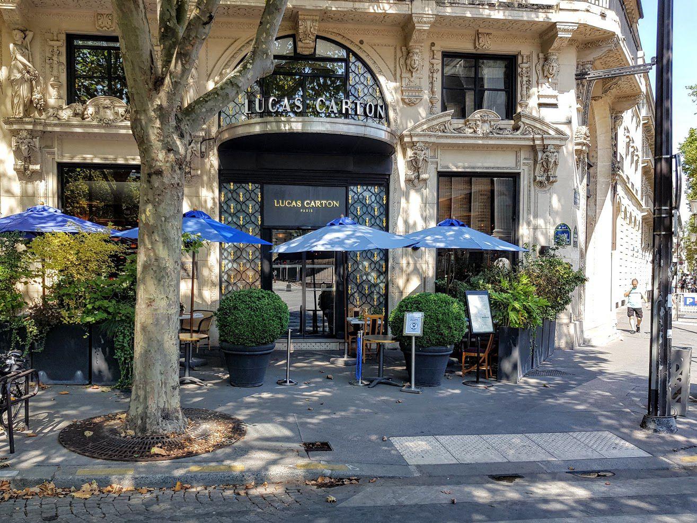 Lucas Carton restaurant Paris 8 Place de la Madeleine
