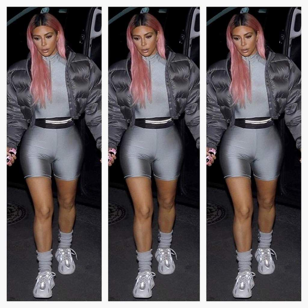 Style avec Kim kardashian✌
