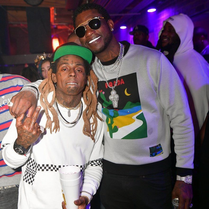 Lil Wayne et Gucci Mane ✌✌