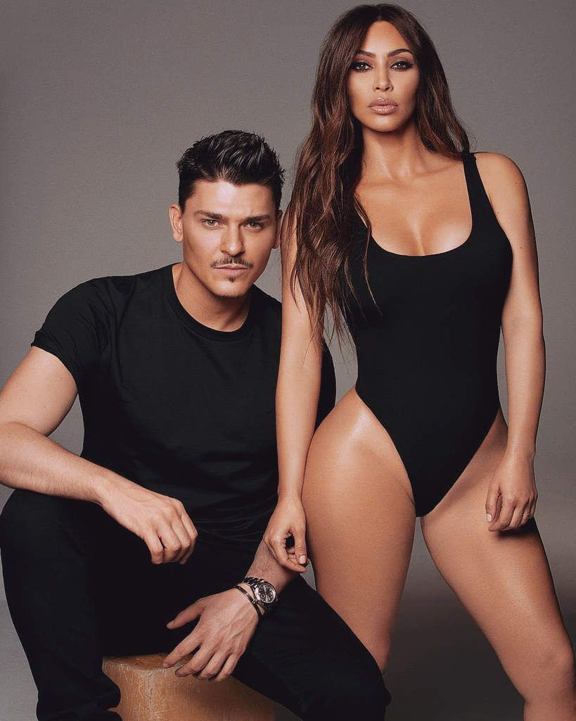 Kim kardashian West et son collaborateur Mario!