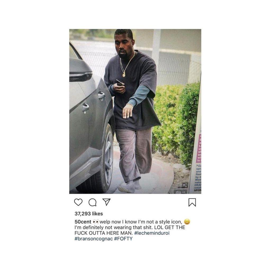 Pourquoi 50 cent compare Kanye west à un mendiant?
