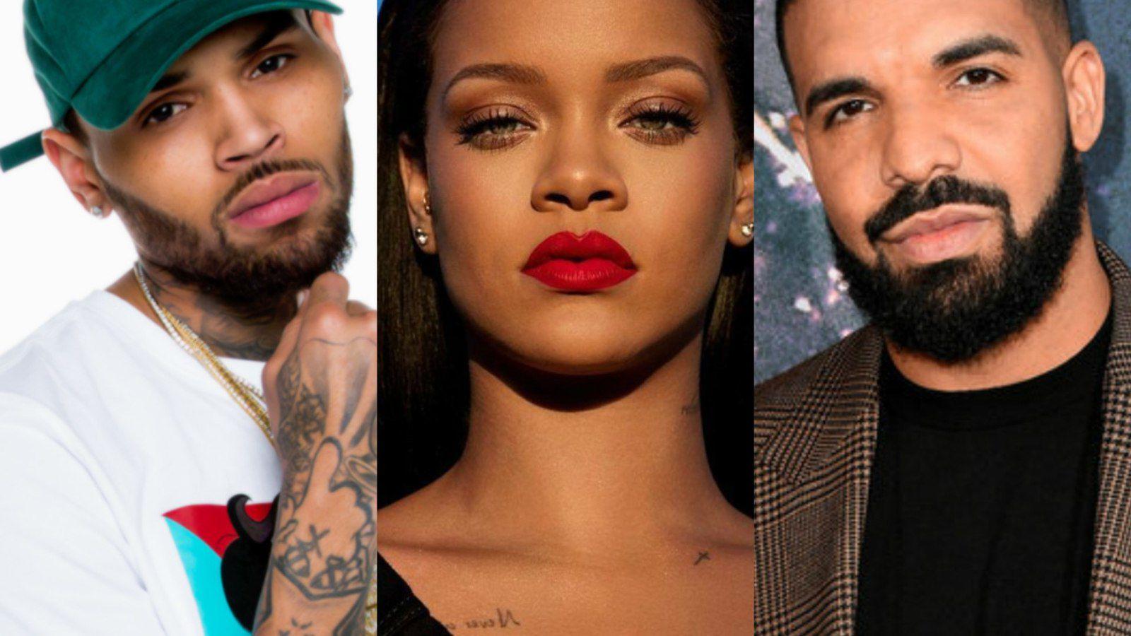 Découvrez la réaction de Rihanna concernant l'amitié entre Chris Brown et Drake !!