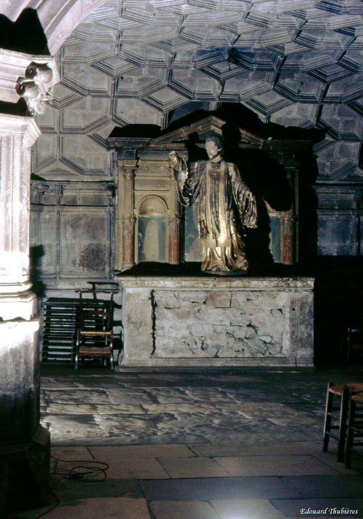 SACRISTIE ANCIENNE CHAPELLE SAINT SOULIER