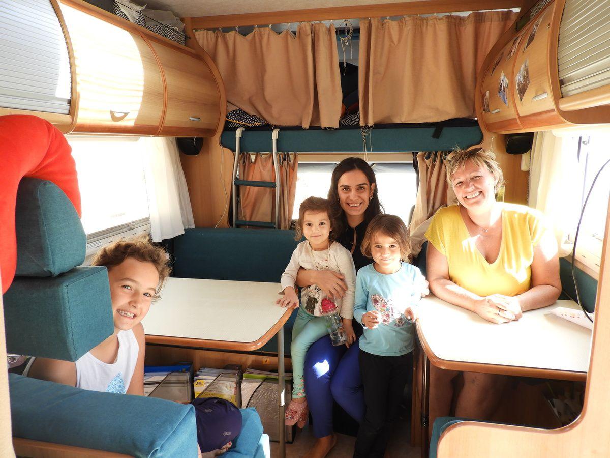Passagère clandestine dans le camping-car !