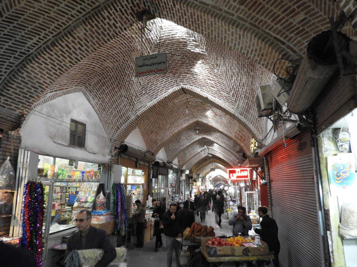 Premiers pas en Iran