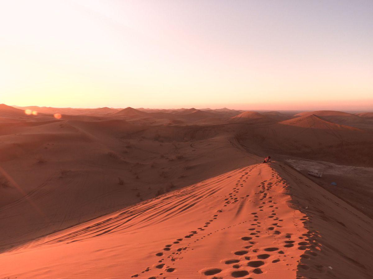 Le désert et une belle rencontre !