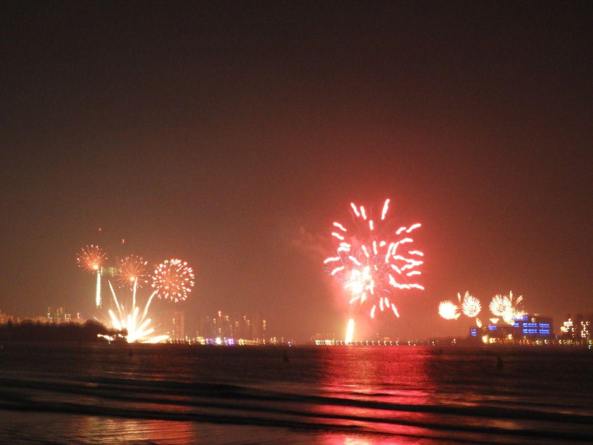 Le jour de l'An à Dubai