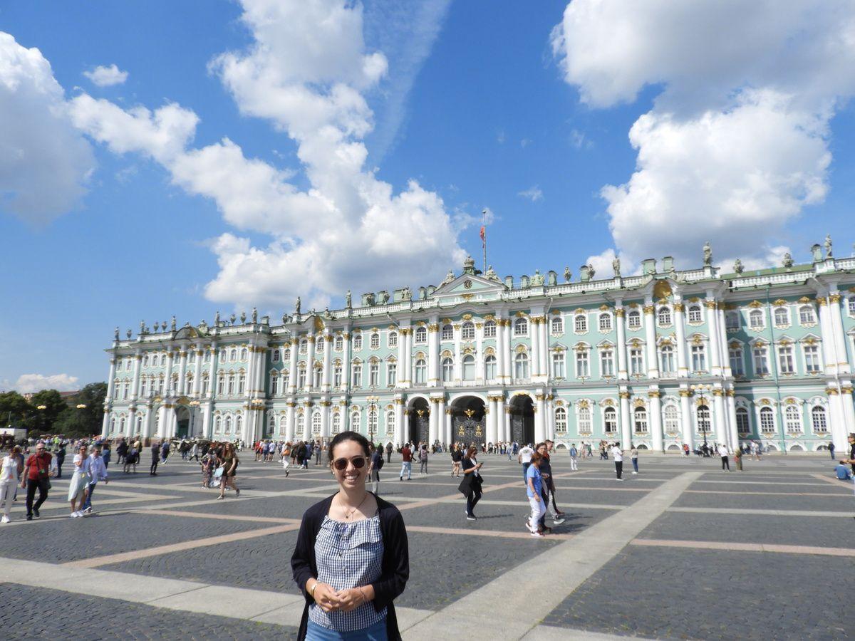 Saint-Pétersbourg, la ville aux portes de l'Europe...