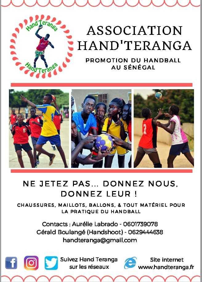 handteranga,promotion du handball au sénégal