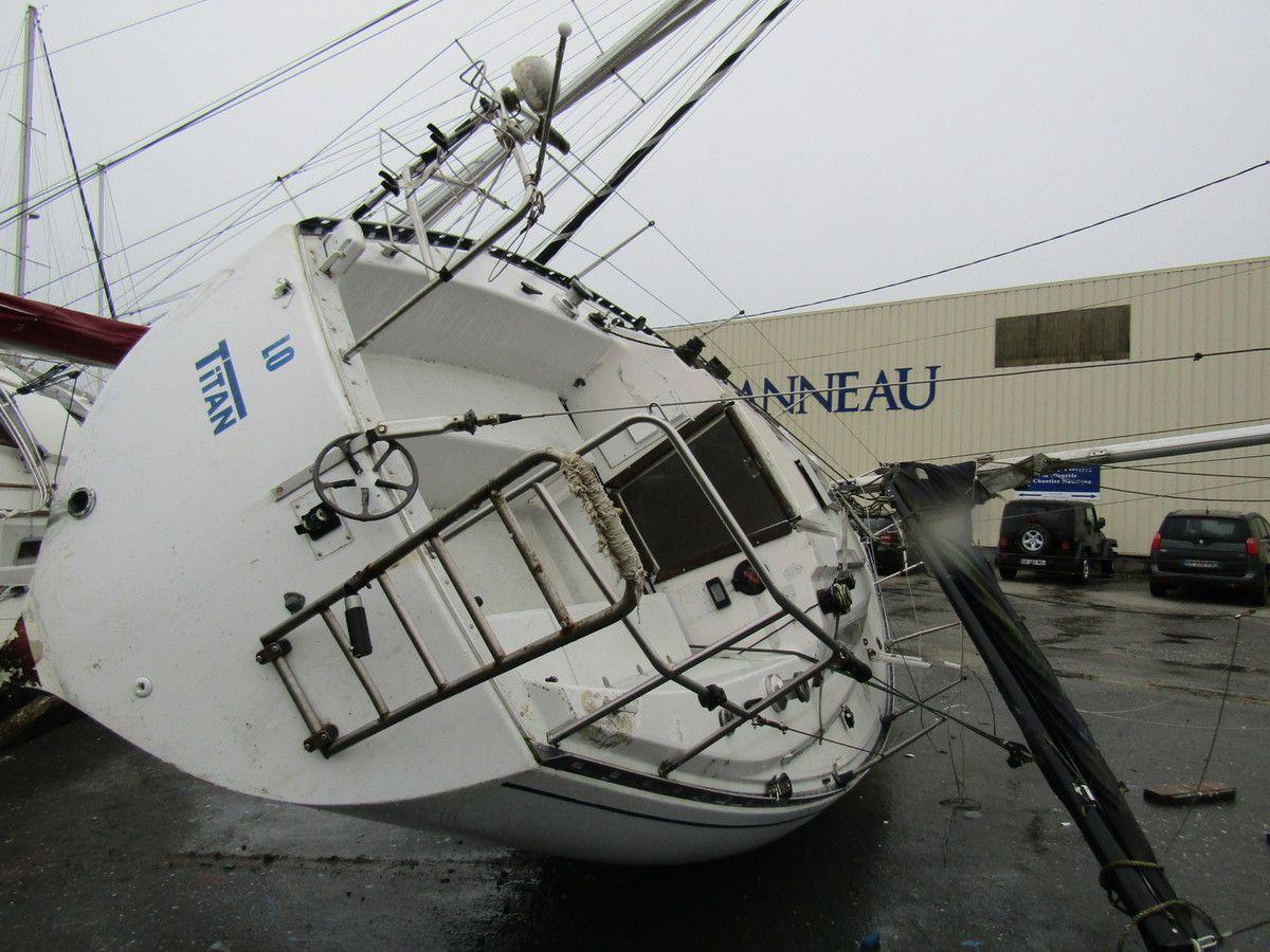 Coup de vent à Pen-Mané.