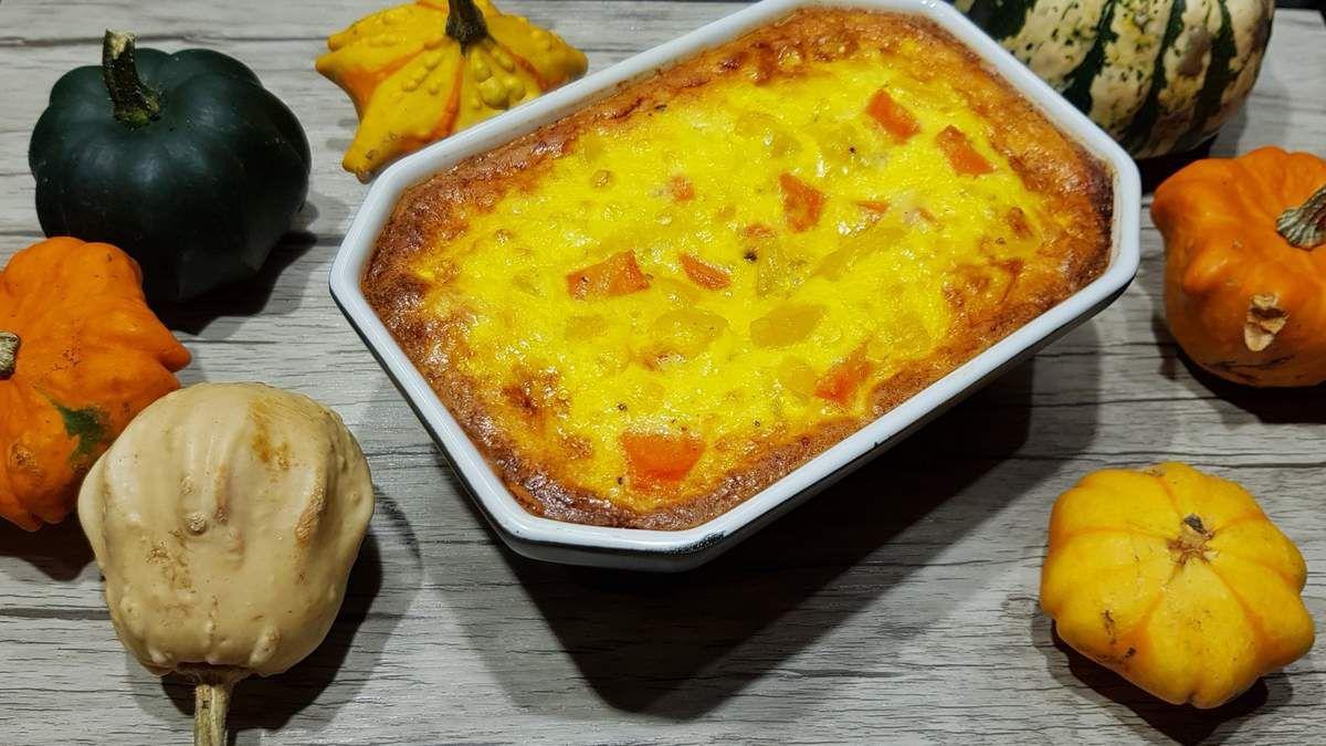 Gratin de butternut et de carottes