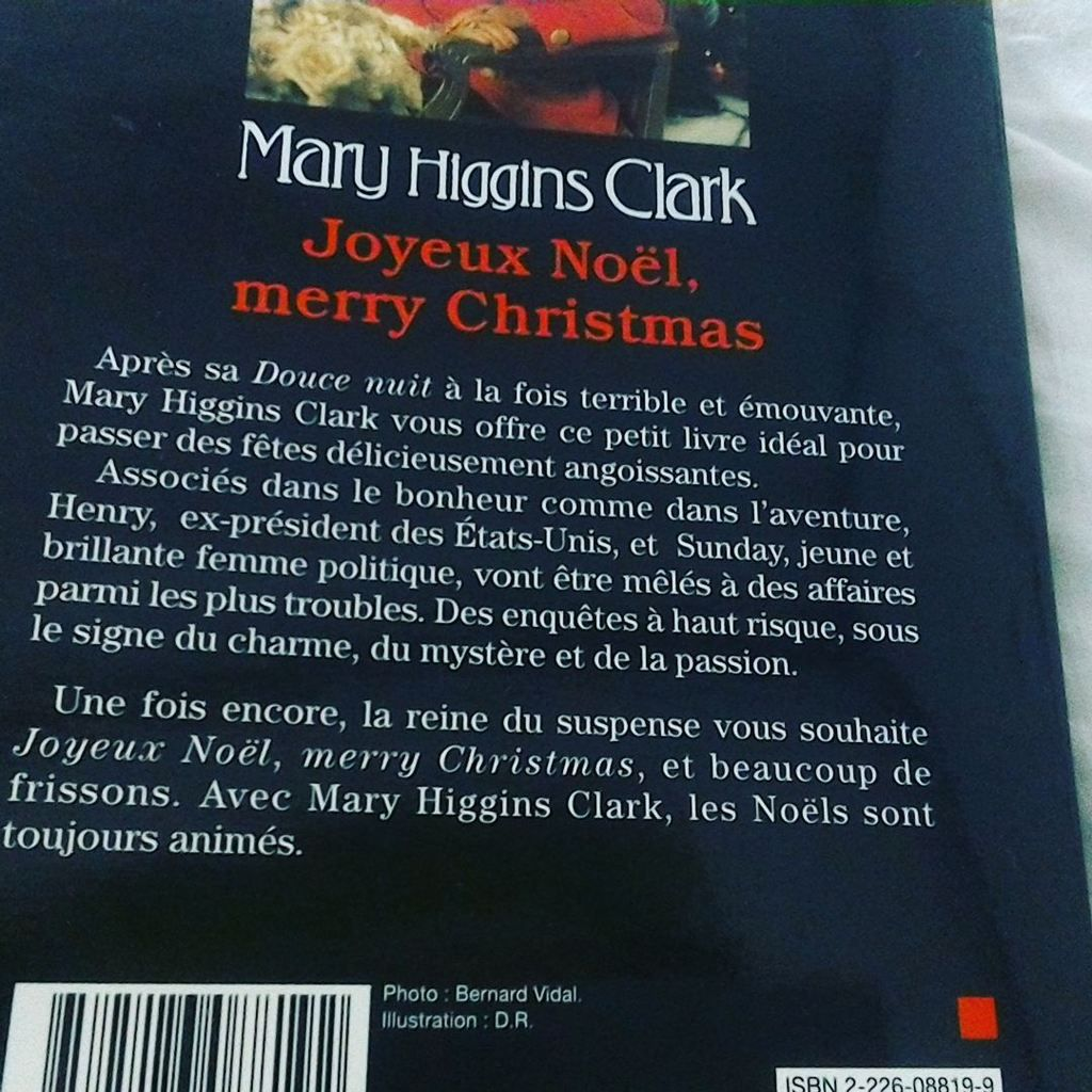 Joyeux Noël Merry Christmas de Mary Higgins Clark