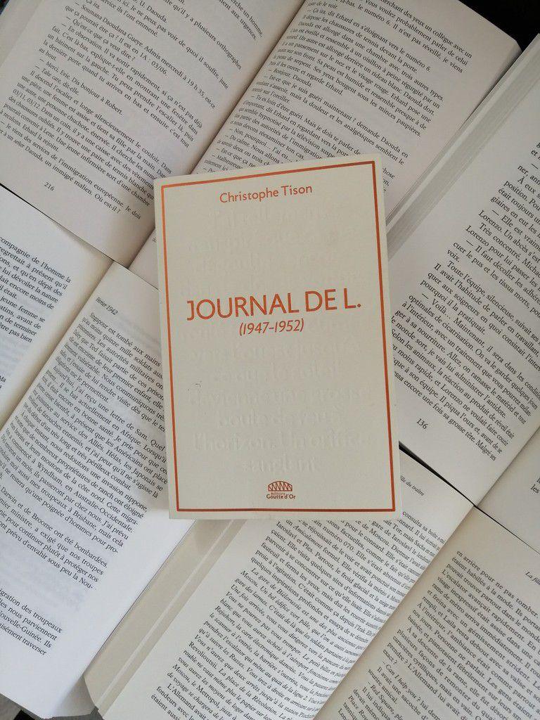 JOURNAL DE L. de Christophe TISON