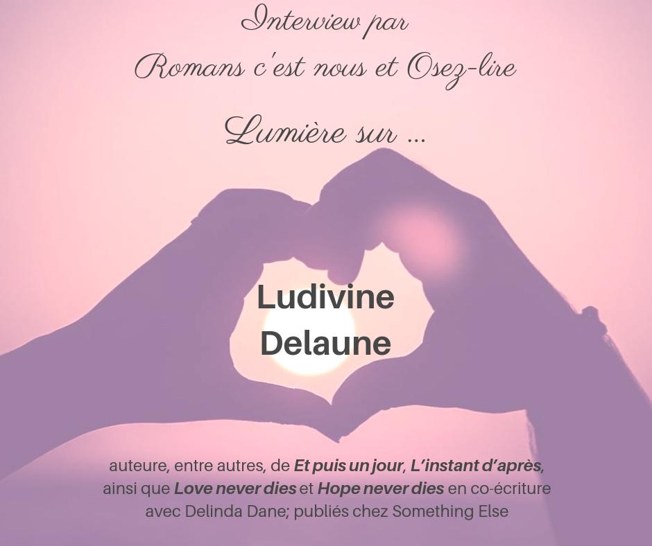 Interview Ludivine Delaune