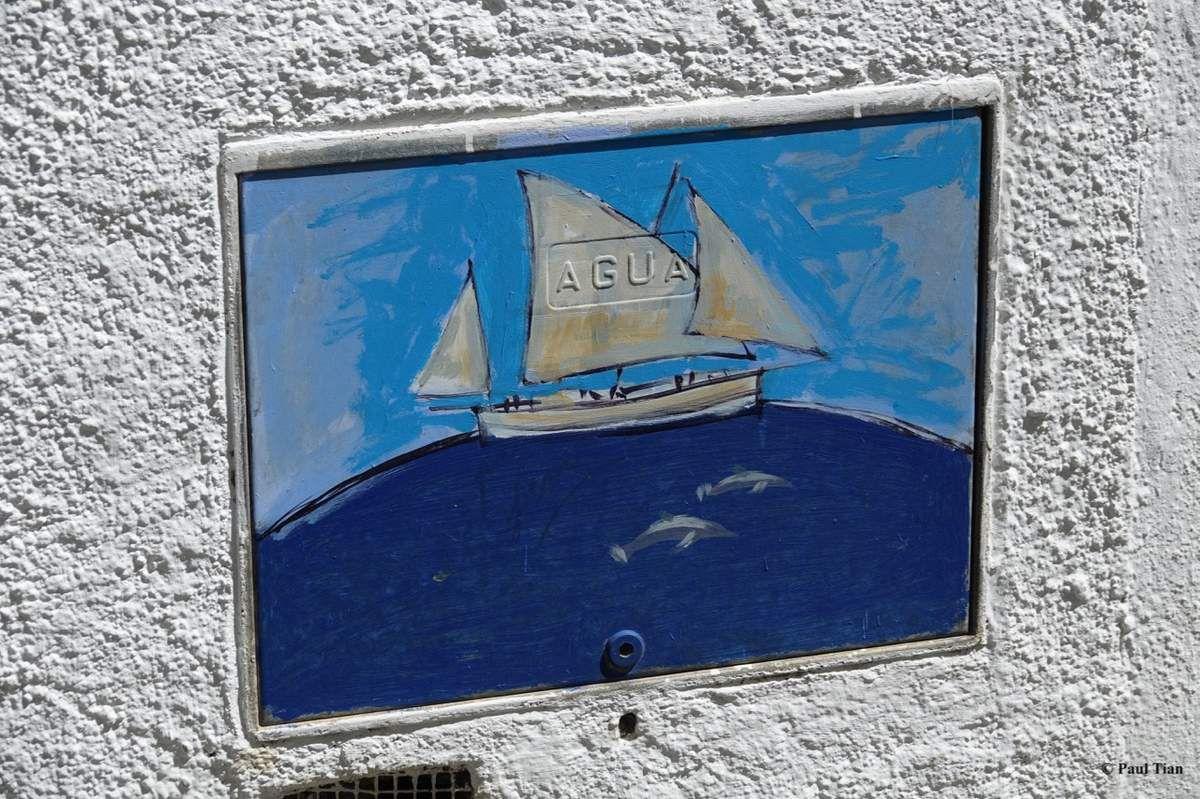 A Cadaqués, l'art est dans la rue