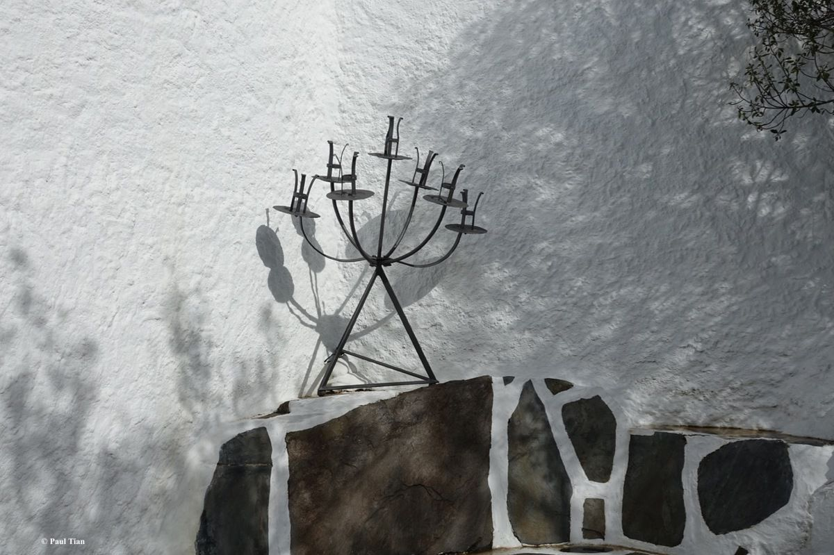 Villa-musée de Salvador Dali à Portlligat : C'est une maison blanche accrochée à la colline... (4)