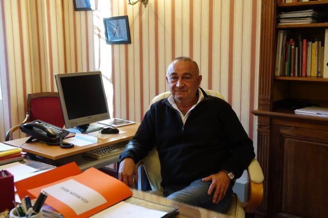Joël Gros, ex-maire de Cierp-Gaud et actuel 1er vice-président de la Communauté de Communes Pyrénées Haut-Garonnaises (Photo © Paul Tian)
