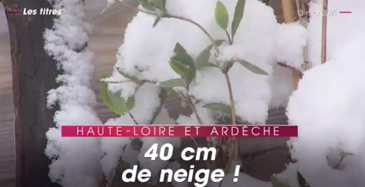 VIDEO. En mai quand avec tes amis motards tu fais une sortie et que tu te trouves bloqué par... 20 centimètres de neige