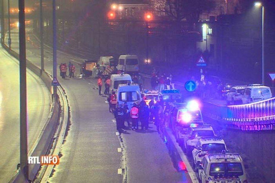 Belgique : un Gilet Jaune meurt sur un barrage filtrant, heurté par un camion