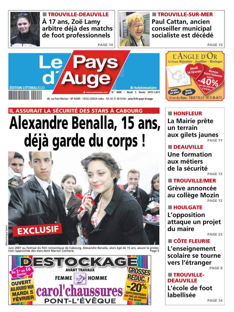 A 15 ans, Alexandre Benalla était déjà... garde du corps