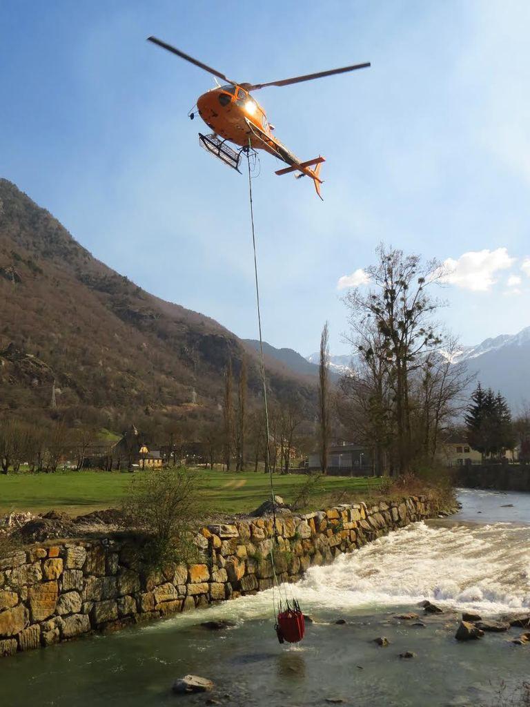 Val d'Aran : incendie à Les, au moins 60 hectares partis en fumée