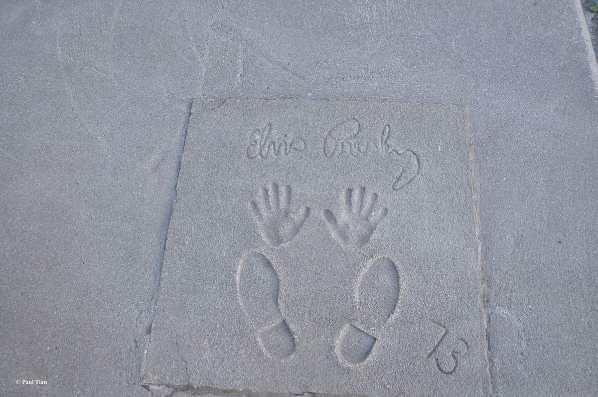 Un jour, une photo : sur les traces d'Elvis...