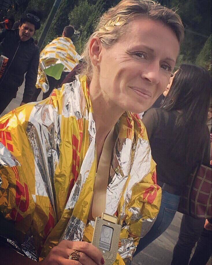 Un marathon de Paris solidaire pour les Restos du Coeur pour la Commingeoise Marie-Lise Razat