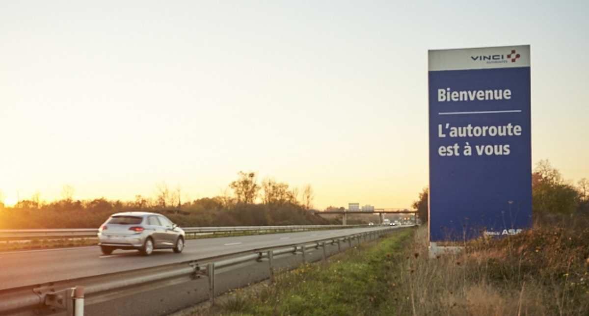 Quand la Région Occitanie a le même slogan que...Vinci Autoroute !