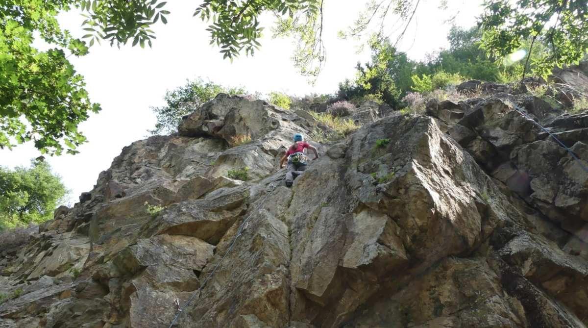 Saint-Mamet : le rocher d'escalade interdit d'accès