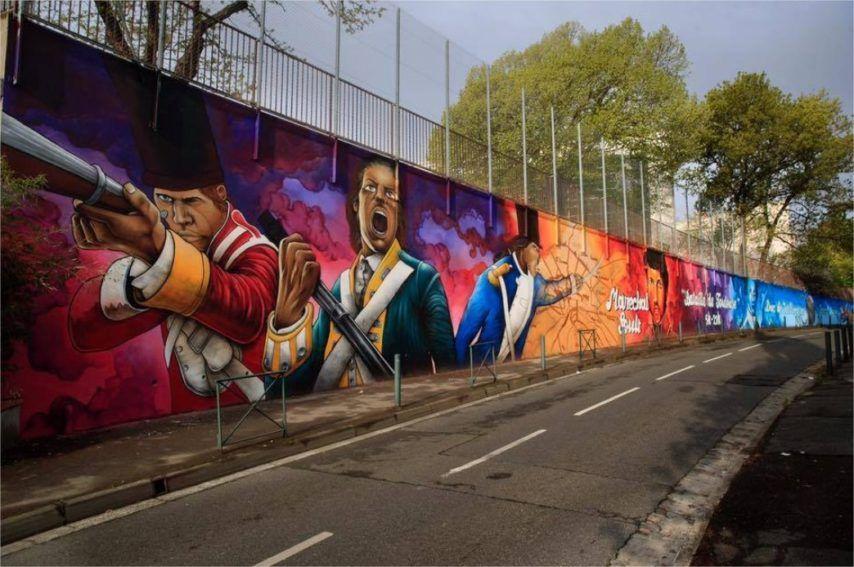 L'art urbain pour commémorer la Bataille de Toulouse