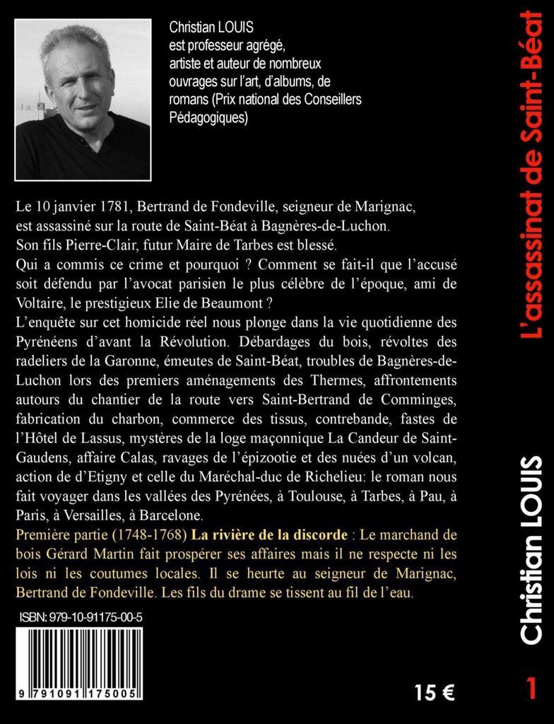 """""""L'assassinat de Saint-Béat"""" : un polar dans les Pyrénées, au 18ème siècle..."""