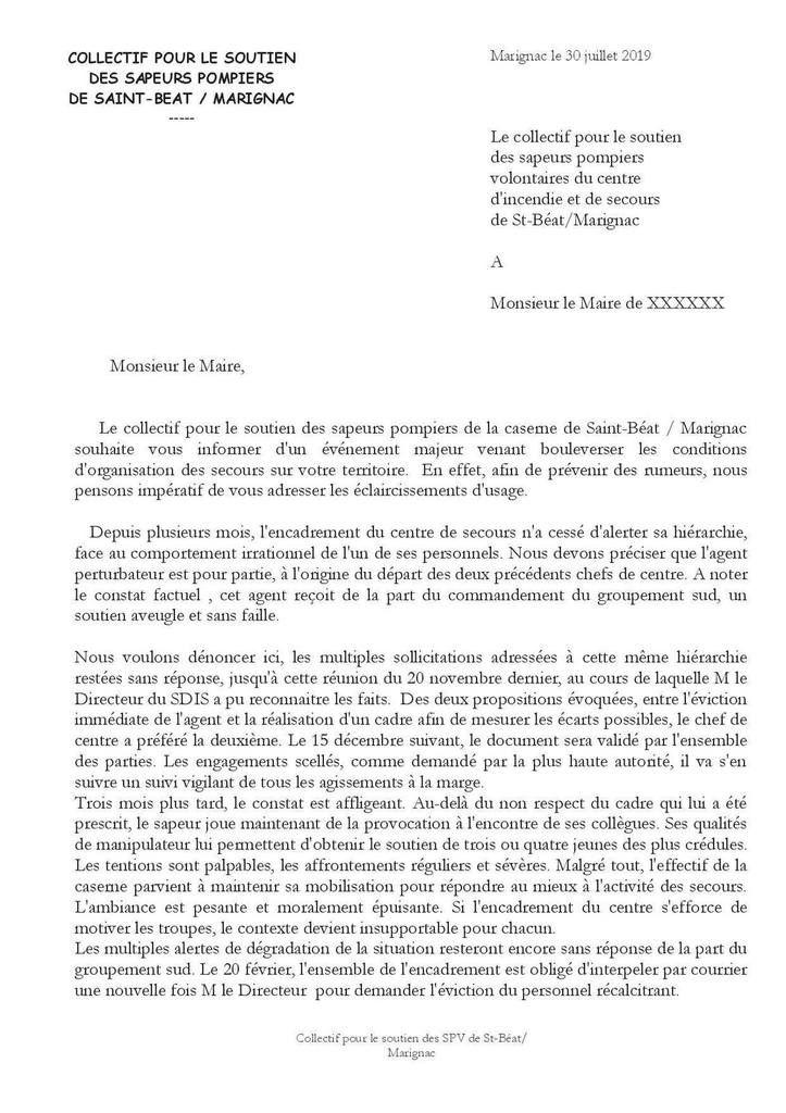 Conflit chez les pompiers de Saint-Béat/Marignac : vers une action dure des maires ?