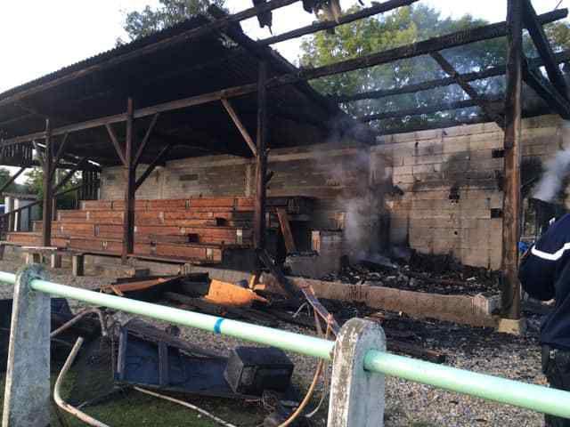 Comminges : le local des jeunes footballeurs du Cagire incendié, appel aux dons !