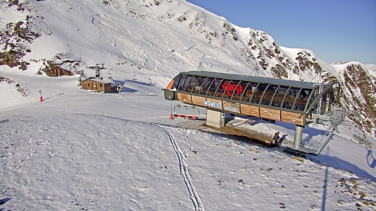 (Photo : webcam station Luchon-Superbagnères)