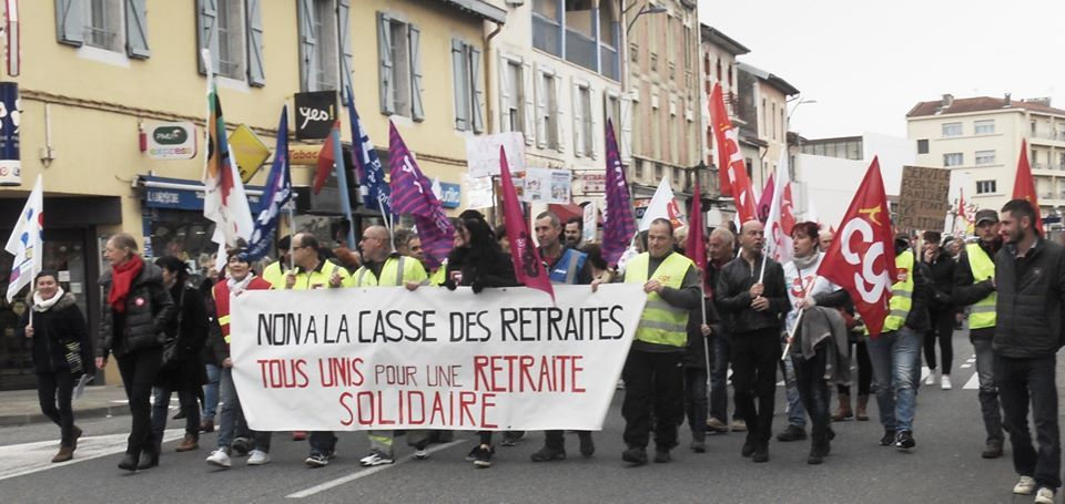 Manifestation à Saint-Gaudens (Photo Facebook @Bernard Comminges)