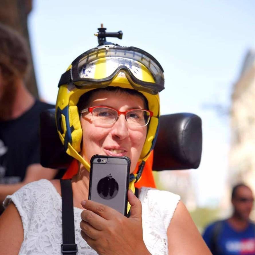 Toulouse : figure des Gilets Jaunes et militante pour les droits des handicapés, Odile Maurin interdite de manifestation