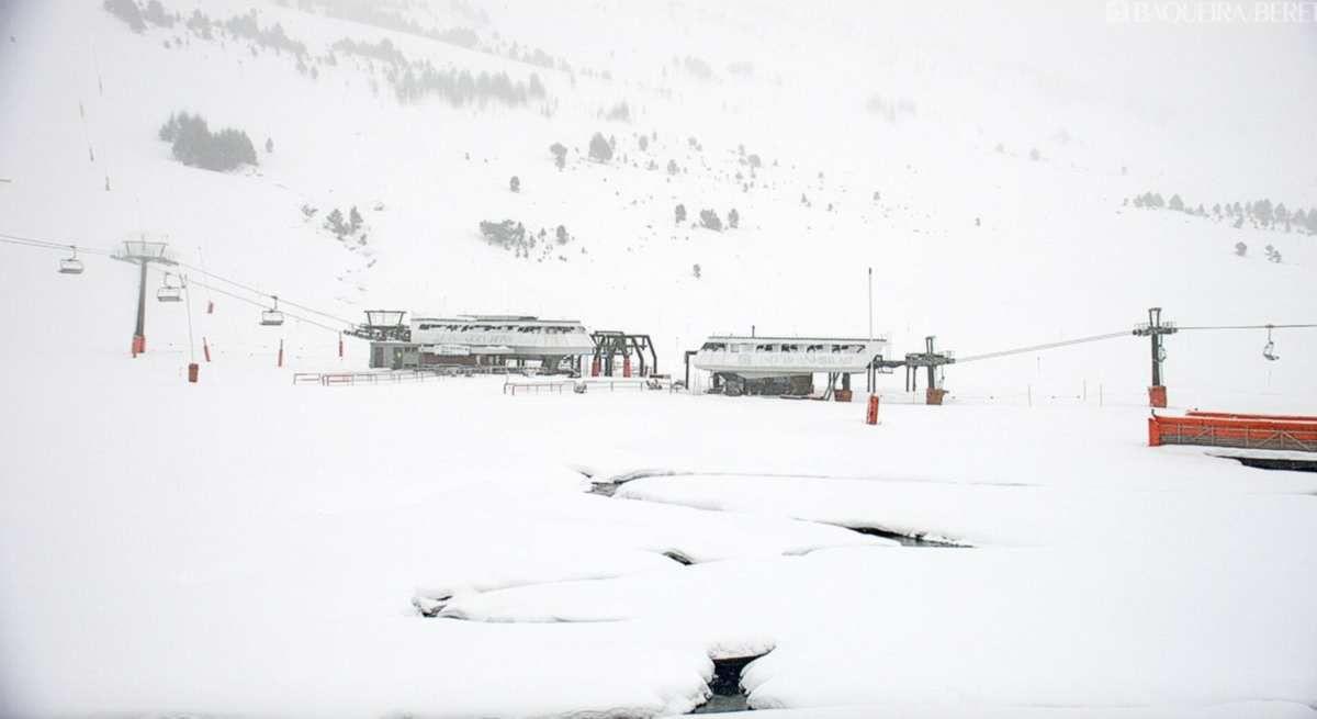 Baqueira-Beret : tombe la neige !