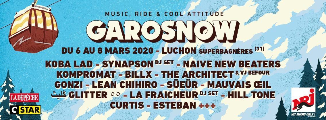 Luchon : deuxième édition du festival électro dans la neige Garosnow !