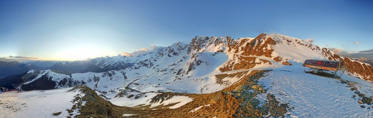 Luchon-Superbagnères : un vendredi de contraste entre soleil et... neige