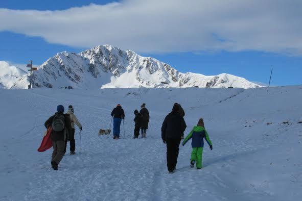 Luchon-Superbagnères : canons à neige en pleine action