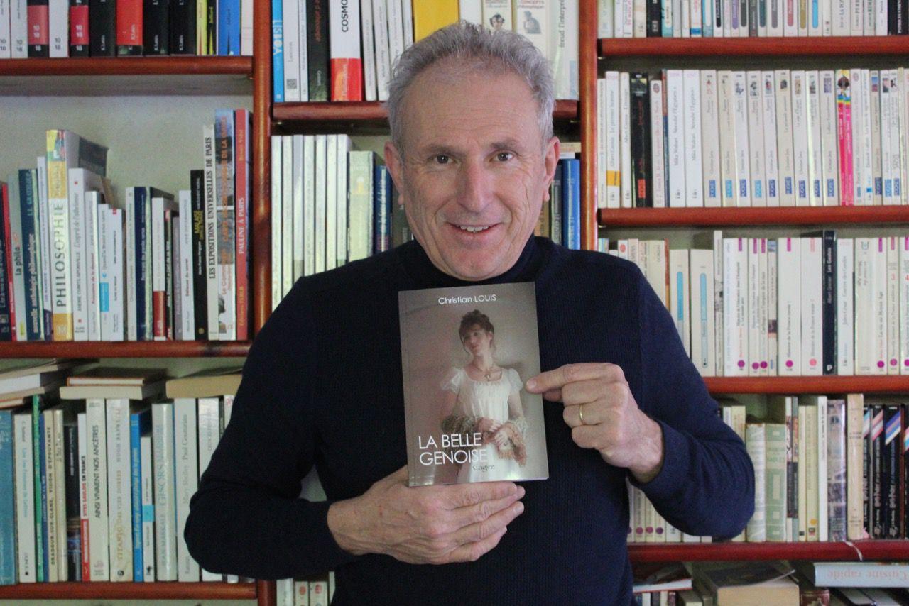 Festival TV de Luchon : l'auteur Commingeois Christian Louis en dédicace à La Librairie des Thermes