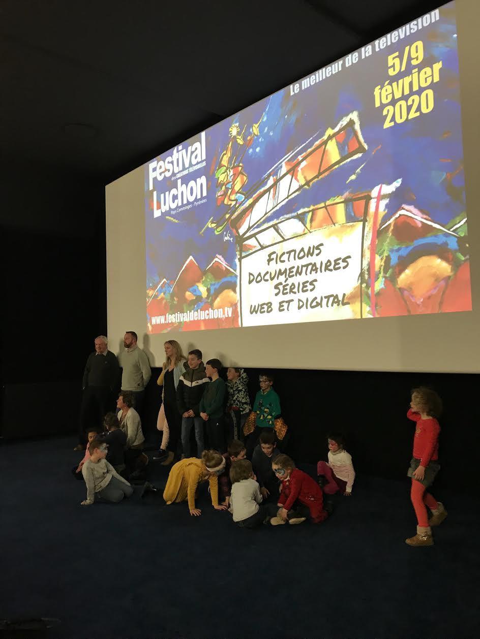 Festival TV de Luchon : Les Pichouns de Molières, stars d'un jour !