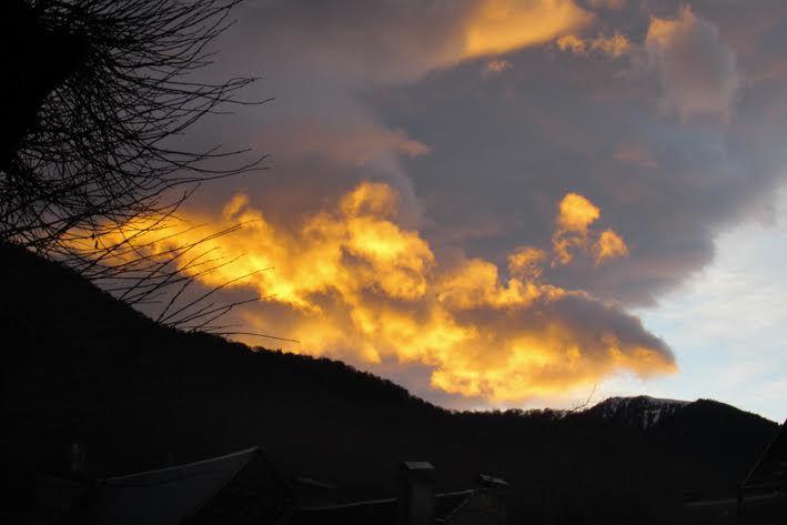 Luchon : ciel de feu !