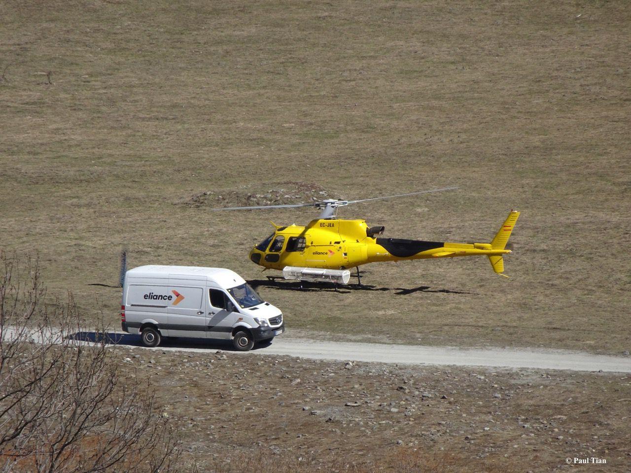 Pyrénées : encore une histoire... d'hélicoptère